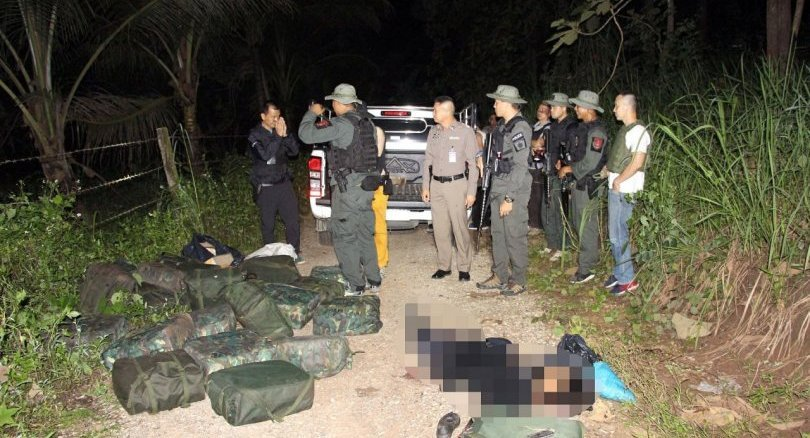 Suspected drug mule killed in shootout with police in Chiang Rai