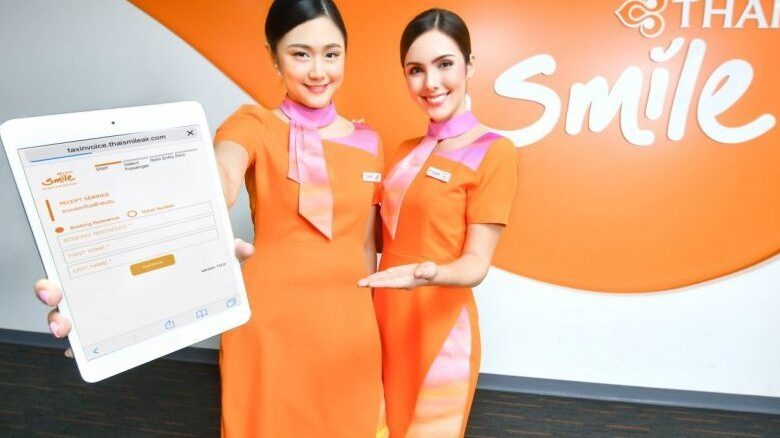 Thai Smile adds QR code payment system for passengers