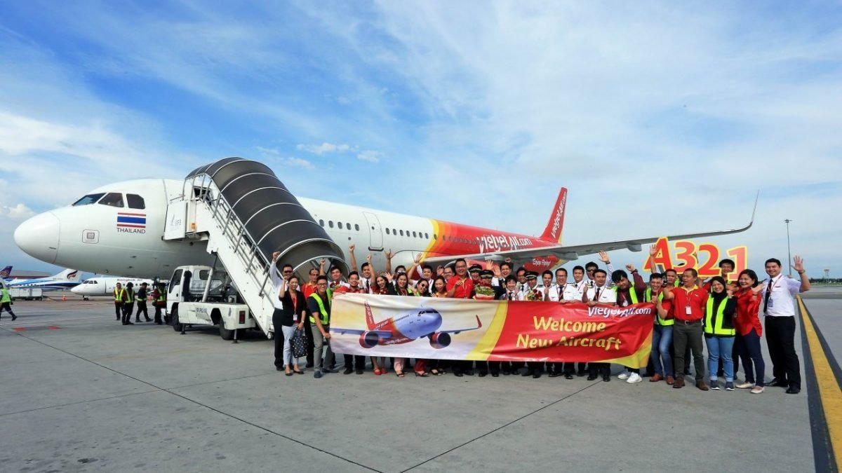 Thai Vietjet becomes the first airline in Thailand to take delivery of new Airbus A321