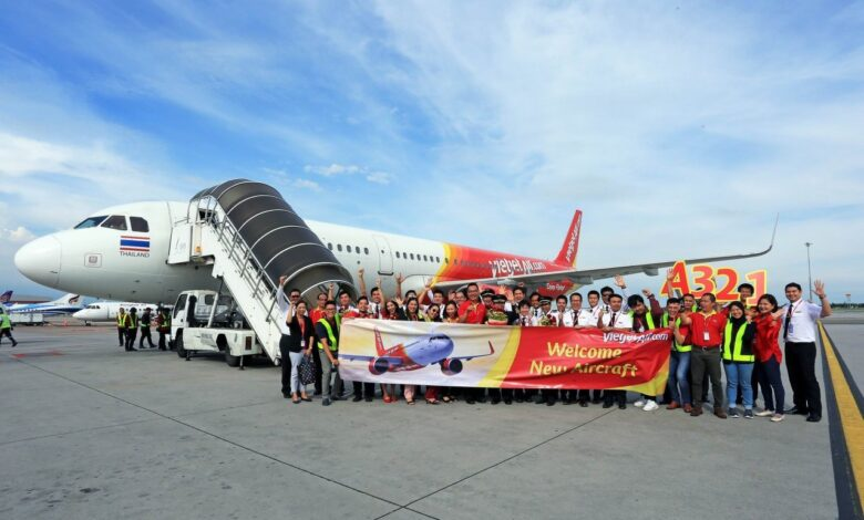 Thai Vietjet becomes the first airline in Thailand to take delivery of new Airbus A321. Thai Vietjet has taken a new Airbus A321 under its wing that is the