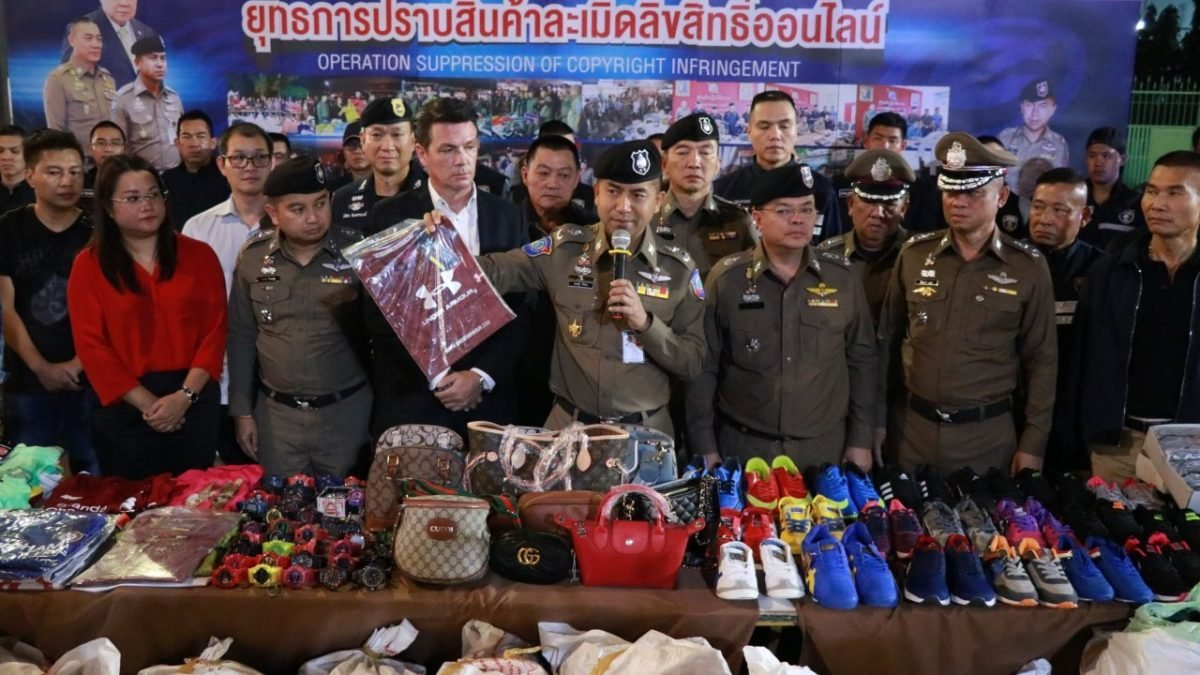 13,690 fake-brand goods seized in Korat