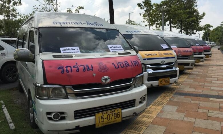 Bangkok commuter vans busy after fleet culled. For the most part, younger vehicles seamlessly filled the gaps left when, for safety reasons, some