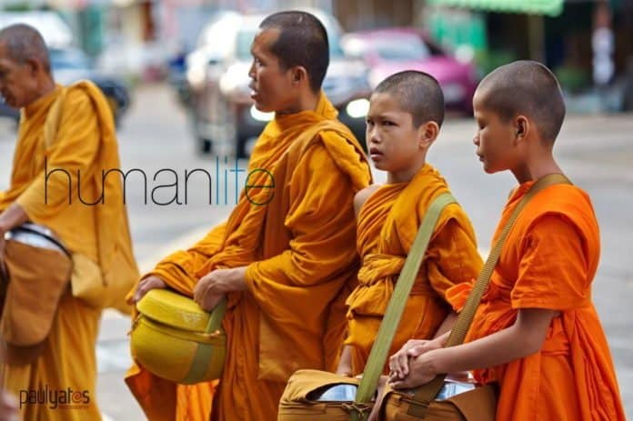 Becoming a Thai Buddhist Monk. You may have seen groups of Thai