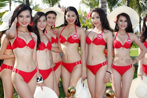 Bikini or no bikini: The big question in Vietnam. Organizers of beauty contests in Vietnam pick up cues on 'true beauty' from Miss