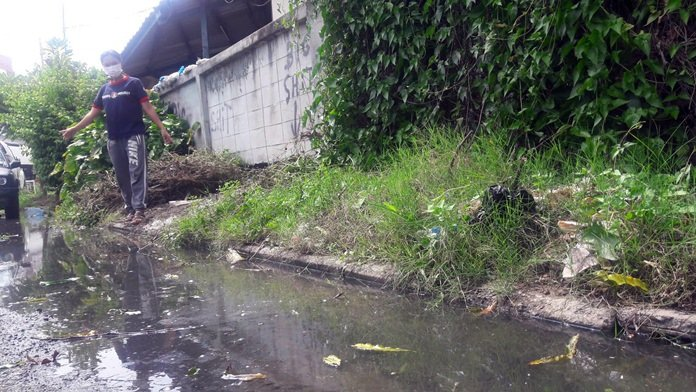 Deputy mayor pledges budget to fix Thepprasit Market-area sewage backups