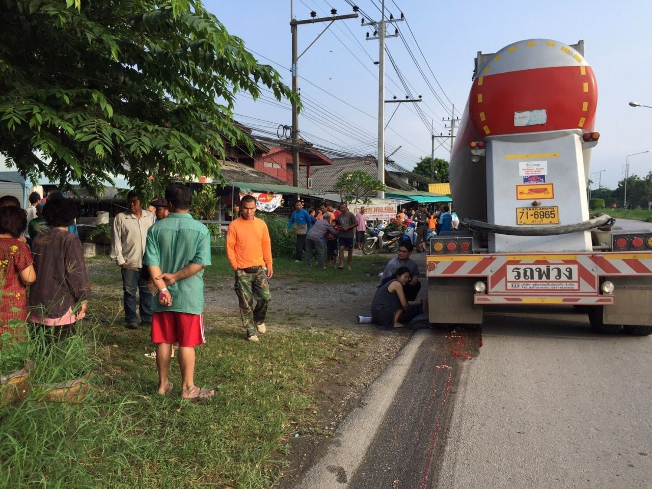 Driver charged after sixth grader crushed to death by truck in Phayao