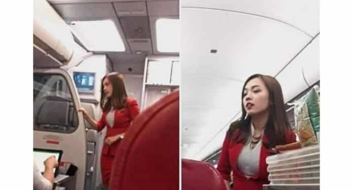 Hot : AirAsia flight attendant 'soaring high' after FB post