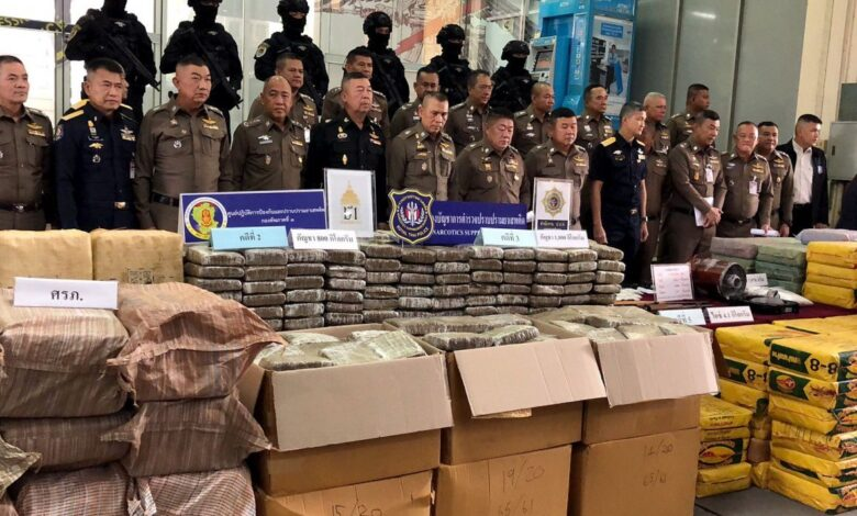 Integrated police intel leads to holiday arrests of 14, major border drug seizures. Police have seized a combined 22 million methamphetamine pills,