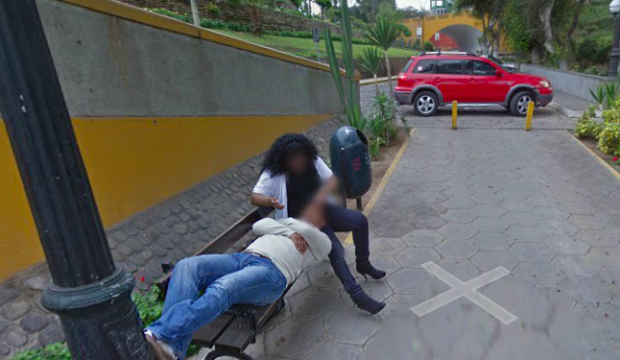 Man divorces cheating wife spotted on Google Maps. A man in Lima, Peru, divorced his wife after he caught her cheating, thanks to a shot of her and the