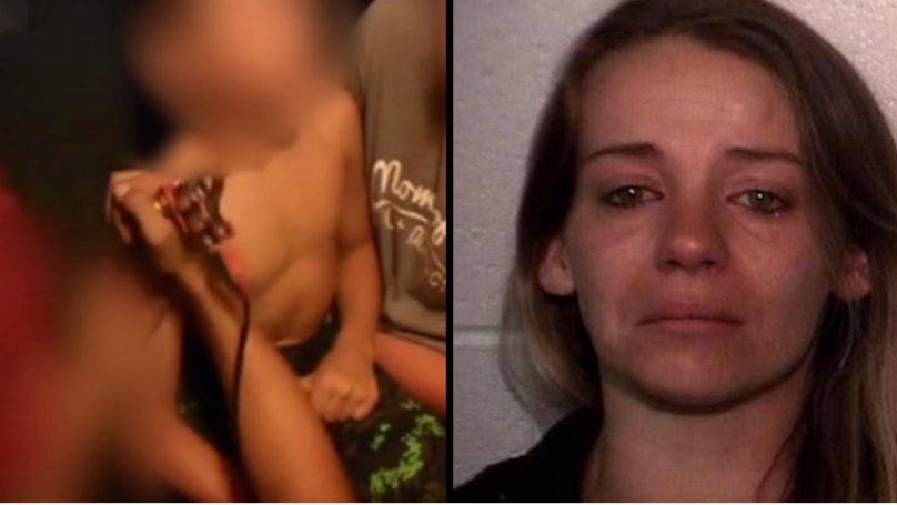 VIDEO: Mum Arrested After Letting Son, 10, Get A Tattoo From A Dirty Needle