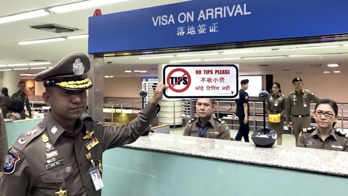 New Immigration head clamps down on visa 'tips'