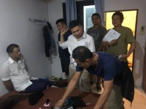 Notorious university thief finally arrested. A Roi Et man who has been allegedly stealing valuables from students at several Bangkok