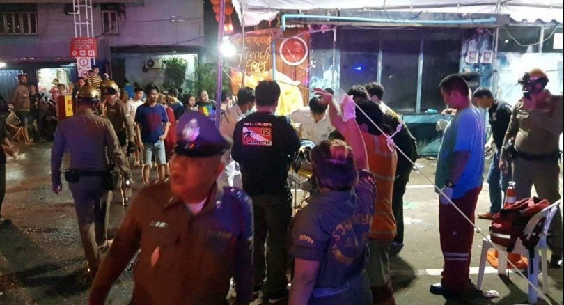 One foreign tourist fatally injured in Bangkok mall shooting