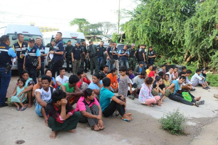 One thousand foreigners rounded up in Thailand