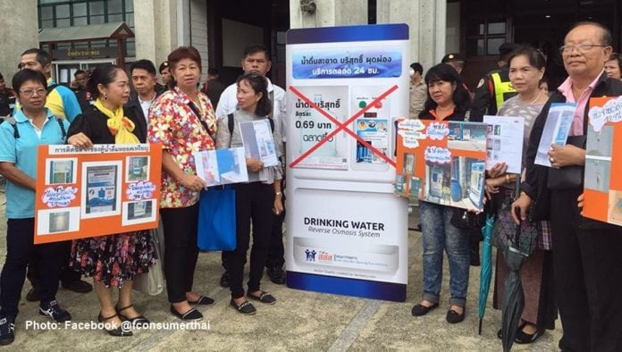 Over 90 percent of water vending machines are unhygienic. The Foundation for Consumers has urged the City Administration to shut down the operations