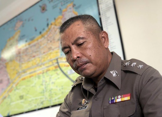 Pattaya law enforcers ramp up for high season. Pattaya law enforcement is stepping up its game for high season.Police chief Pol. Col. Apichai Kroppech met