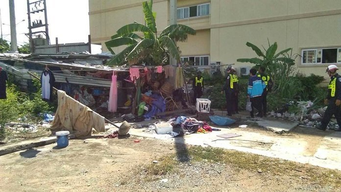 Pattaya sweeps homeless off Jomtien Beach. More than a dozen homeless people were picked up in Jomtien Beach and offered shelter and job training.