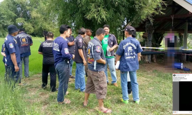 Phetchaburi man hangs himself after Facebook post. A man hanged himself in a shack in his rice field in Phetchaburi's Khao Yao district on Sunday