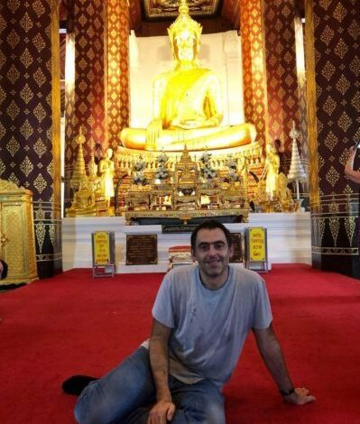 Ronnie O'Sullivan To Live With Budhist Monks In Thailand