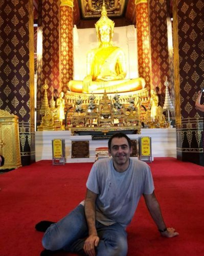 Ronnie O'Sullivan To Live With Budhist Monks In Thailand For Three Months