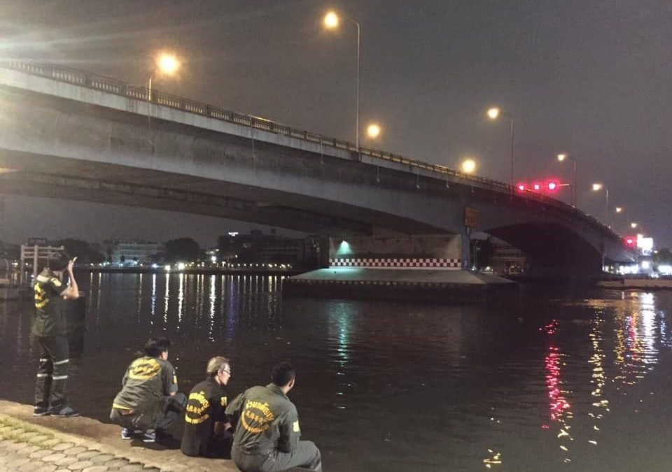 Thai woman missing after apparent suicide jump from Somdet Phra Pinklao Bridge