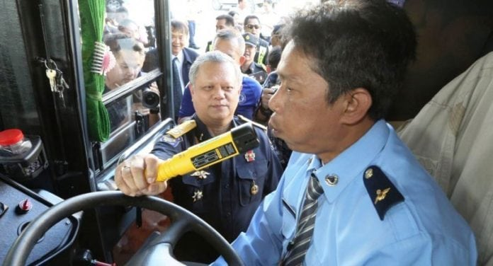Thailand's Bus Drivers Now Face Random Drug and Alcohol