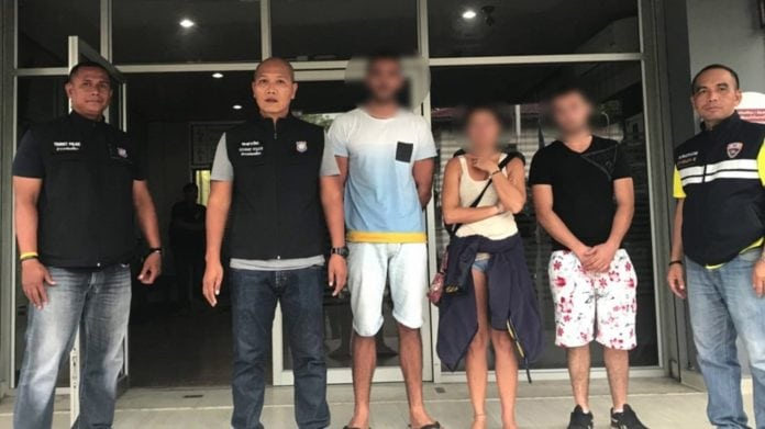 Three french tourists face years in Thai jail for making false