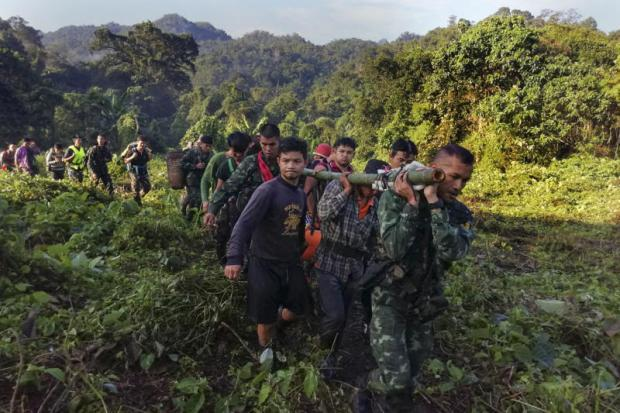 Tourist rescued after THREE DAYS in a ravine