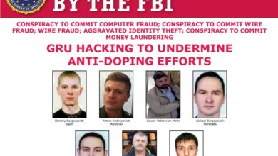 US indicts seven Russian military intel agents in global hacking conspiracy