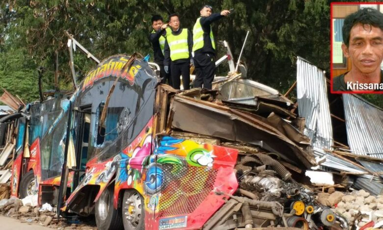 Bus driver gets four-year jail term over passenger deaths. A Thai bus driver, who reportedly drove under drug influence and crashed his company's
