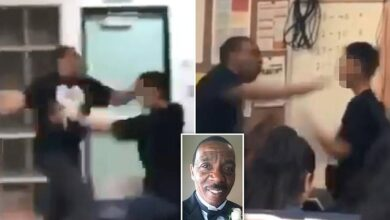 California Teacher Repeatedly Punches Student in Shocking Classroom