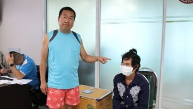 Cambodian arrested for stealing 20,000 baht from Chinese Tourist