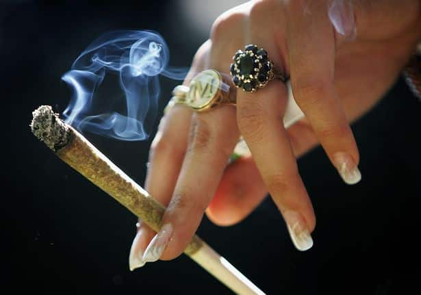 'Cannabis smokers are far less of a threat to society than drunks'