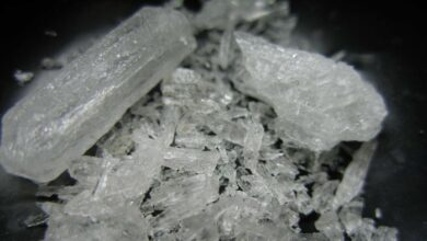 Couple arrested with 100g of 'ice' on Koh Samui. A couple have been arrested on suspicion of peddling crystal methamphetamine on the