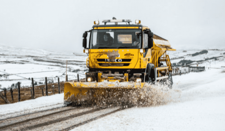 Cumbria County Council Name Gritters 'Spready Mercury' and 'Nicole