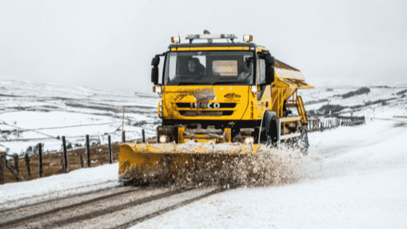 Cumbria County Council Name Gritters 'Spready Mercury' and 'Nicole Saltslinger' After Public Vote