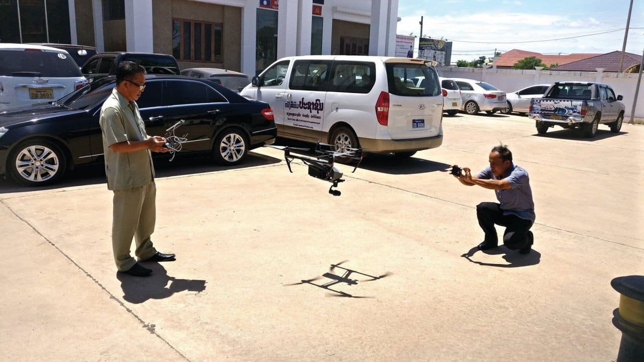 Drone owners in Laos advised of permit regulations. The department's Deputy Director General, Mr Bounteng Symoun, toldVientiane Timesthe