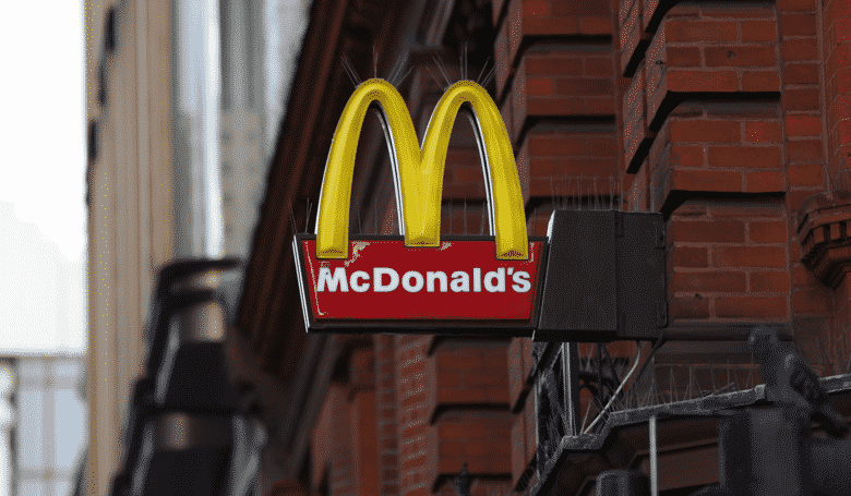 Drunk Man Pulls Trousers Down, Jumps On McDonald's Counter
