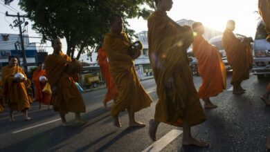 Eat, pray, exercise: Thailand's monks battle weight problems. Every morning Buddhist monk Pipit Sarakitwinon takes walks around his temple and does