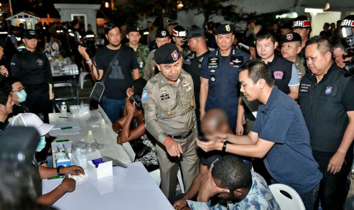 Foreigners arrested in Thailand, 730 rounded up today. More foreigners have been arrested in Thailand as 730 were rounded up today for Visa