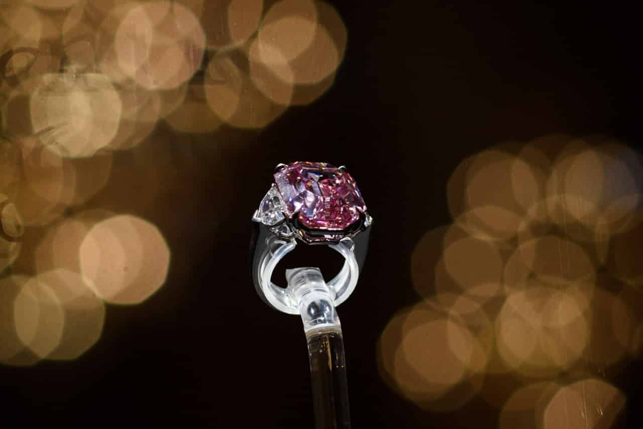 'Incomparable' pink diamond smashes record at Geneva auction
