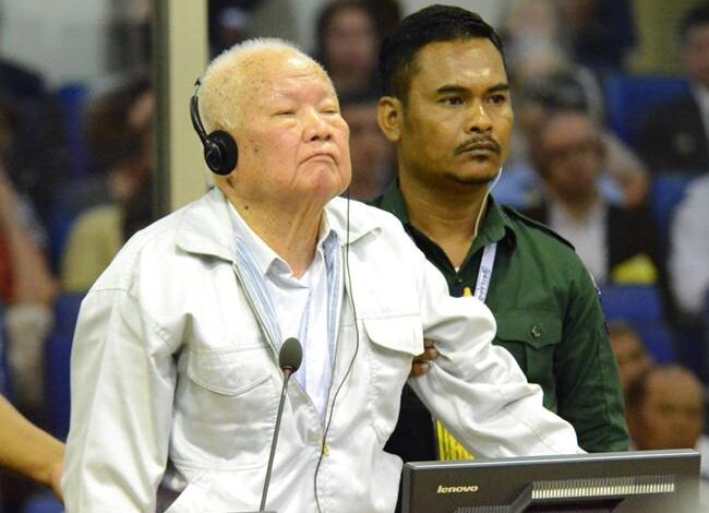 Last Khmer Rouge leaders guilty of genocide, get life terms. The last surviving leaders of the Khmer Rouge regime that ruled Cambodia in the 1970s,