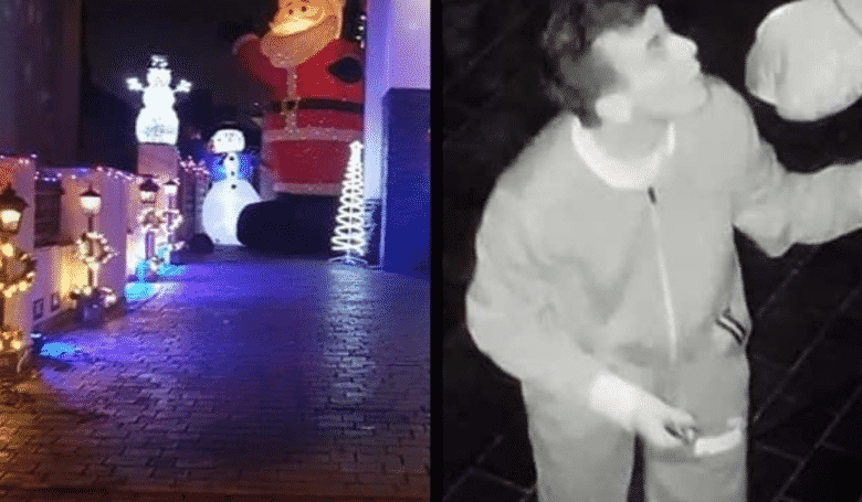 Man Captured On CCTV Performing Sex Acts On Inflatable