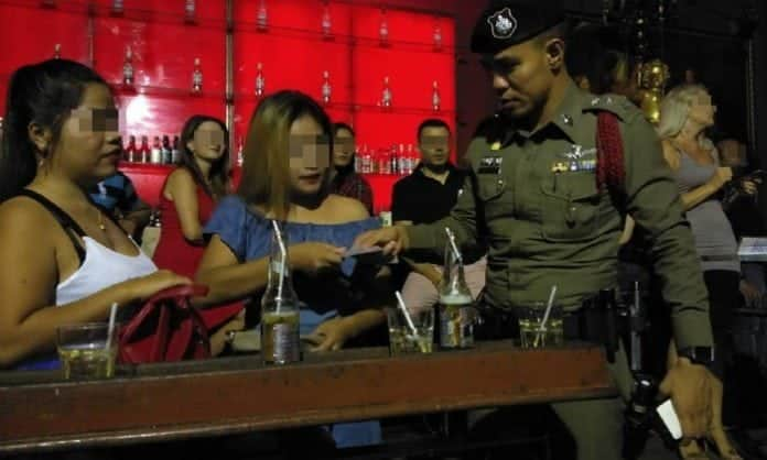 NO PROSTITUTION in Pattaya Walking Street, police declare