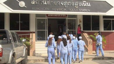 Prosecutors drop breast-fondling case against doctor. NAKHON RATCHASIMA: Prosecutors have dropped the case against a private hospital director