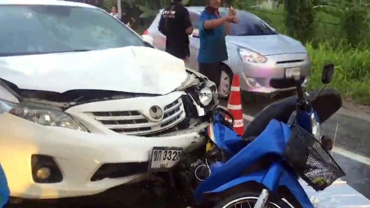 Teacher charged in fatal Chon Buri accident