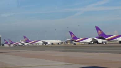 Thai Airways board approves plan to acquire 38 aircraft to keep up with growing market: President. Thai Airways president Sumeth Damrongchaitham said