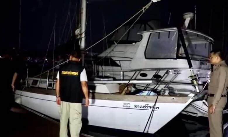 Tourist found dead on yacht, foul play not suspected. A Canadian tourist was found dead on his yacht in Chon Buri's Sattahip district early on Friday.