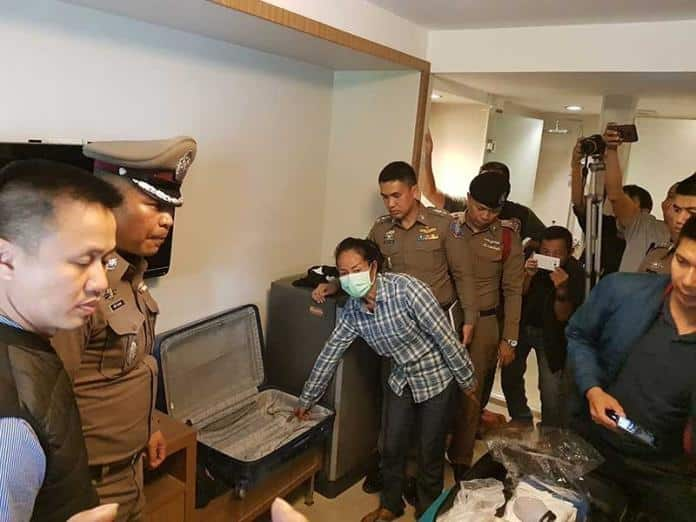 Tourist robbed of 12,000 baht in his hotel room by Thai female, suspect arrested