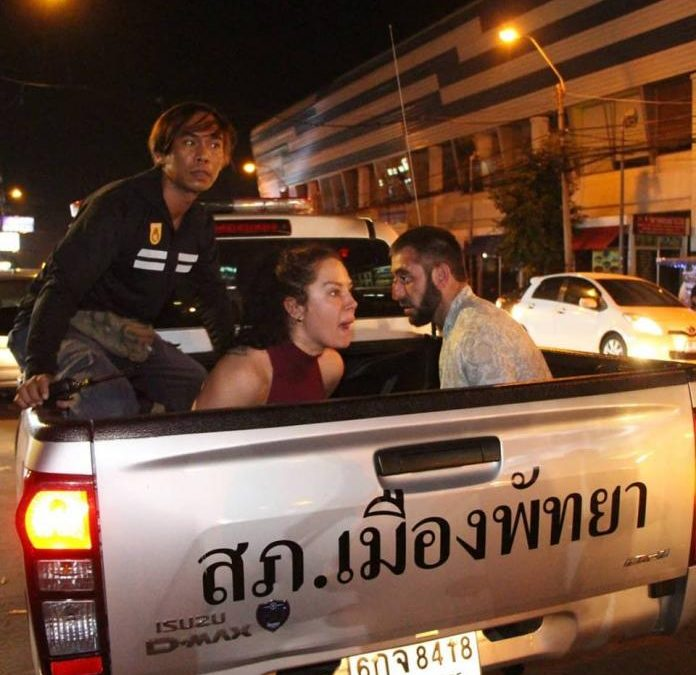 Two Russian tourists attack Indian tourists without provocation with bottle, arrested in Central Pattaya